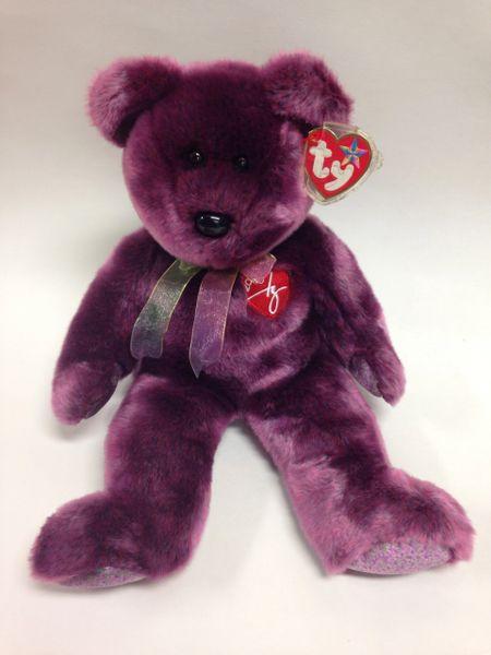 "Beanie Buddy *2000 SIGNATURE BEAR* 14"" - Ty"