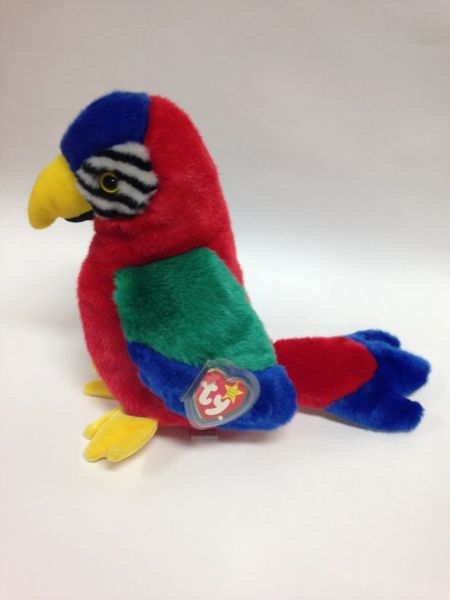 "Beanie Buddy *JABBER* the Parrot 9"" - Ty"