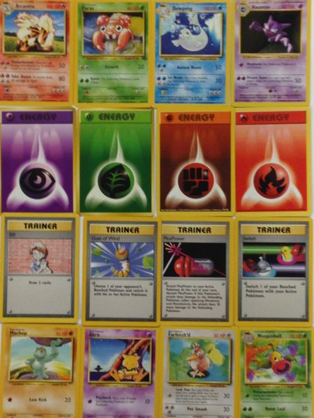 Assorted POKEMON Cards - American 15 ea. for $1 or Japanese 20 ea. for $1