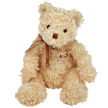 HERSCHEL the CRACKER BARREL Bear Beanie Baby - Ty