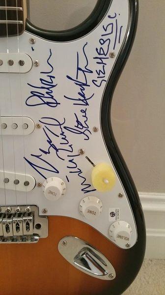 GENESIS Autographed Guitar - GV546942
