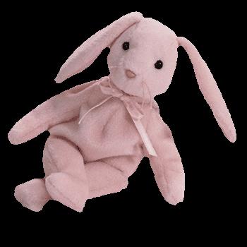 HOPPITY the BUNNY (Pink) Beanie Baby - Ty