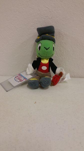 JIMINY CRICKET (Pinocchio) Mini Bean Bag - Disney