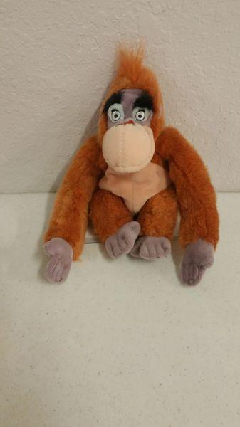 KING LOUIE the GORILLA (The Jungle Book) Mini Bean Bag - Disney