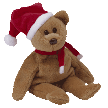 1997 HOLIDAY BEAR *CHRISTMAS* Beanie Baby - Ty