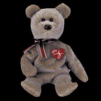 1999 SIGNATURE BEAR Beanie Baby - Ty