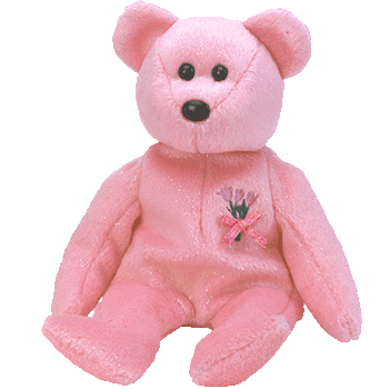 MUM the MOTHER'S DAY Bear (Pink) Beanie Baby - Ty