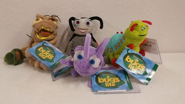A BUG'S LIFE (4 piece set) Mini Bean Bag - Disney