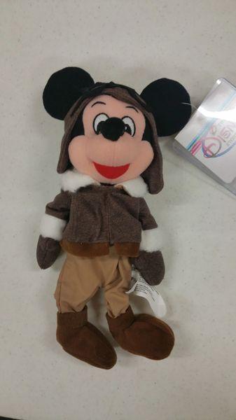 MICKEY MOUSE PILOT Mini Bean Bag - Disney