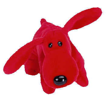 ROVER the RED DOG Beanie Baby - Ty