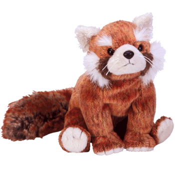 RUSTY the RED PANDA Beanie Baby - Ty