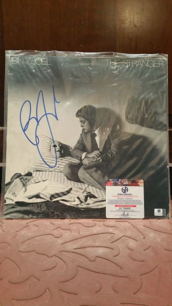 Billy Joel **THE STRANGER** Signed & Certified LP Cover with vinyl record - GV704892