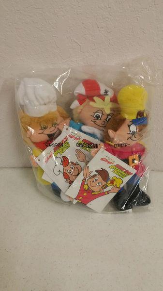SNAP, CRACKLE, POP (Set of 3) Beanie Plushies - Kellogg's