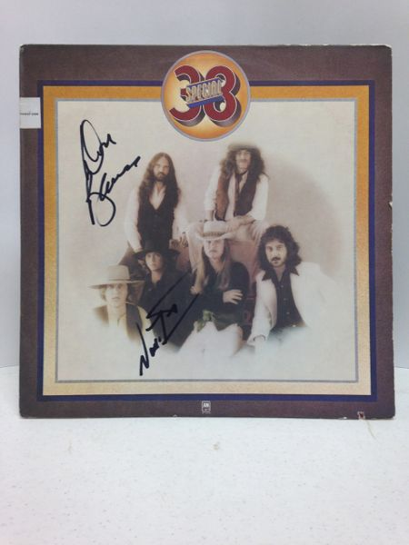 38 Special **38 SPECIAL** Signed & Certified LP Cover with vinyl record - signed by: Don Barnes, Donnie Van Zant - GA (Global Authentics) Certification # GV580318