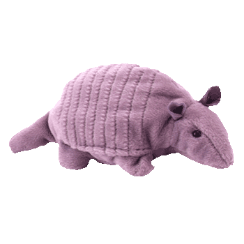 TANK WITH SHELL the ARMADILLO Beanie Baby - Ty