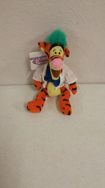 TIGGER MAD SCIENTIST (Winnie the Pooh) Mini Bean Bag - Disney