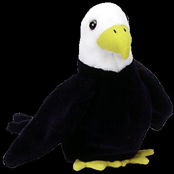 BALDY the EAGLE Beanie Baby - Ty