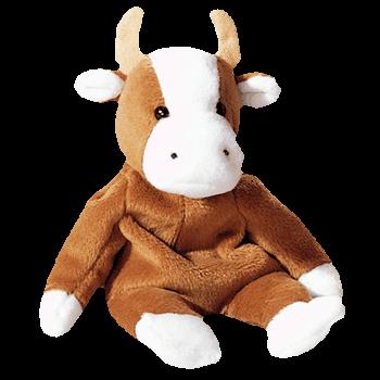 BESSIE the COW Beanie Baby - Ty