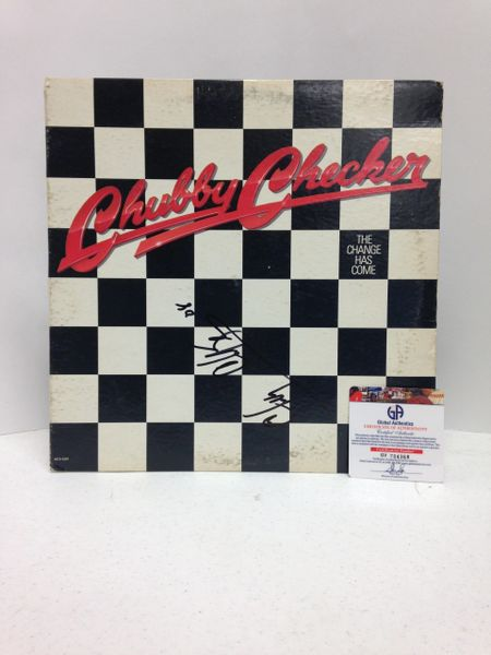 Chubby Checker **THE CHANGE HAS COME** Signed & Certified LP Cover with vinyl record - GV704368
