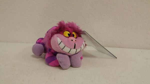 CHESHIRE CAT (Alice in Wonderland) Bean Bag Doll - Disney