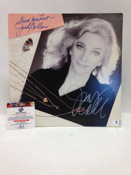 Judy Collins **TRUST YOUR HEART** Signed & Certified LP COVER ONLY - no vinyl record - GV704358