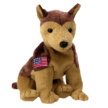 COURAGE the DOG Beanie Baby - Ty