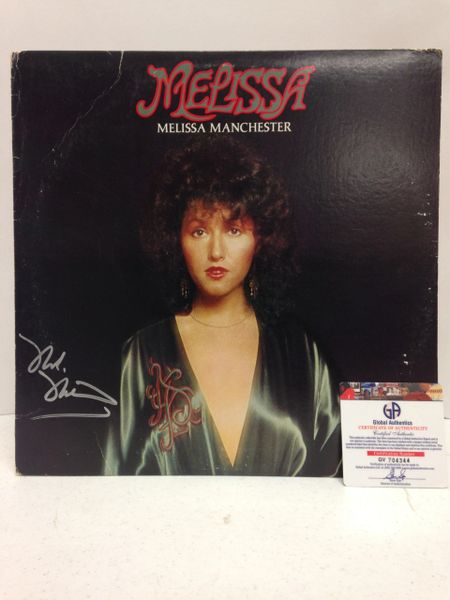 Melissa Manchester **MELISSA** Signed & Certified LP Cover with vinyl record - GV704344