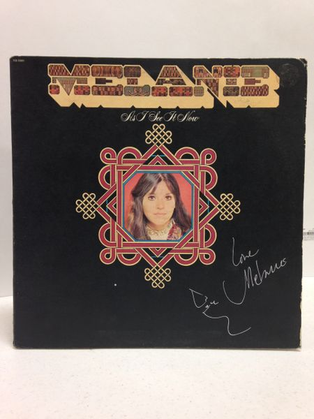 Melanie **AS I SEE IT NOW** Signed & Certified LP Cover with vinyl record - GV591134