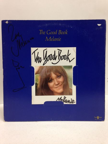 Melanie **THE GOOD BOOK** Signed & Certified LP Cover with vinyl record - GV574822