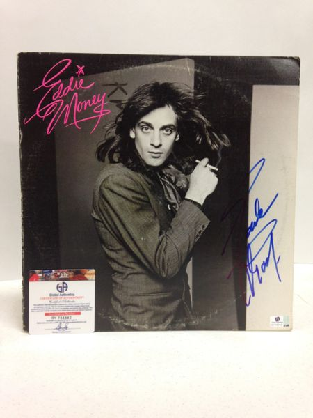 Eddie Money **EDDIE MONEY** Signed & Certified LP Cover with vinyl record - GV704342