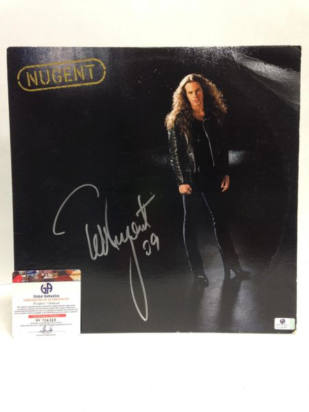 Ted Nugent **NUGENT** Signed & Certified LP Cover with vinyl record - GV704365