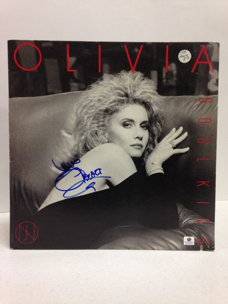 Olivia Newton-John **SOUL KISS** Signed & Certified LP Cover with vinyl record - GV546961