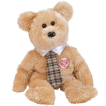DAD-E FATHER'S DAY 2003 Beanie Baby Bear - Ty