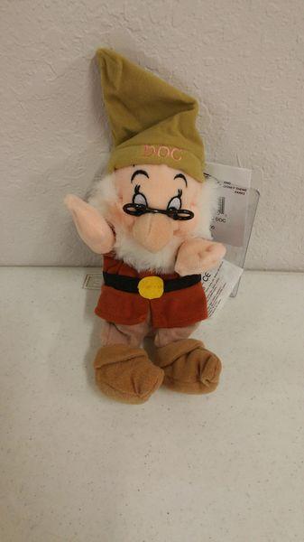DOC (Snow White & the Seven Dwarfs) Mini Bean Bag - Disney