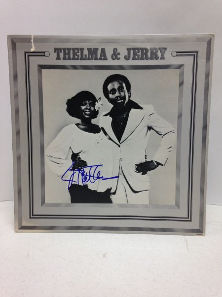 Thelma Houston **THELMA & JERRY** Signed & Certified LP Cover with vinyl record - GV519204