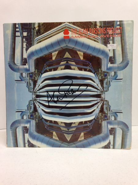 The Alan Parsons Project **AMMONIA AVENUE** Signed & Certified LP Cover with vinyl record - GV580351 - signed by: Alan Parsons