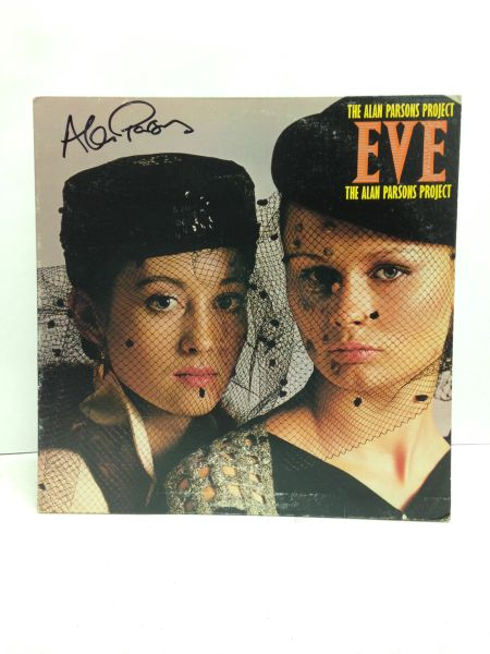 The Alan Parsons Project **EVE** Signed & Certified LP Cover with vinyl record - GV586112 - signed by: Alan Parsons