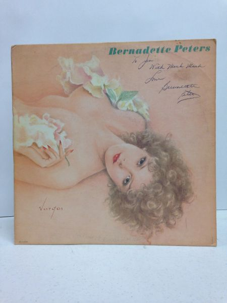 Bernadette Peters **BERNADETTE PETERS** Signed & Certified LP Cover with vinyl record - GV562582