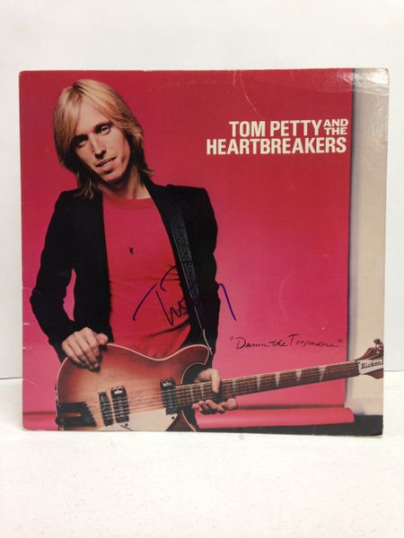 Tom Petty and the Heartbreakers **DAMN THE TORPEDOES** Signed & Certified LP cover with vinyl record - GV546214 - signed by: Tom Petty