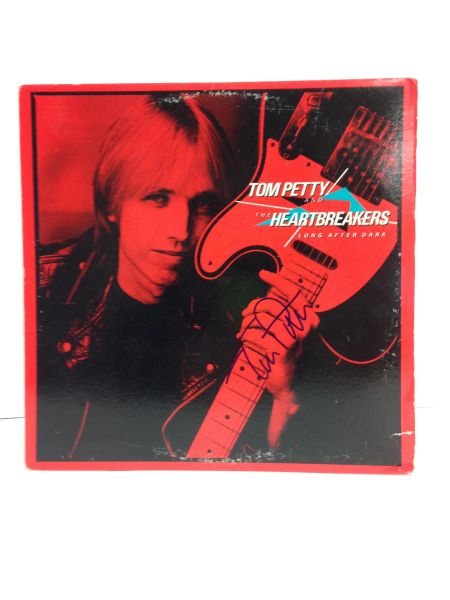 Tom Petty and the Heartbreakers **LONG AFTER DARK** Signed & Certified LP cover with vinyl record - GV591211 - signed by: Tom Petty