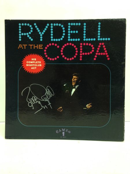 Bobby Rydell **RYDELL AT THE COPA** Signed & Certified LP Cover with vinyl record - GV591227