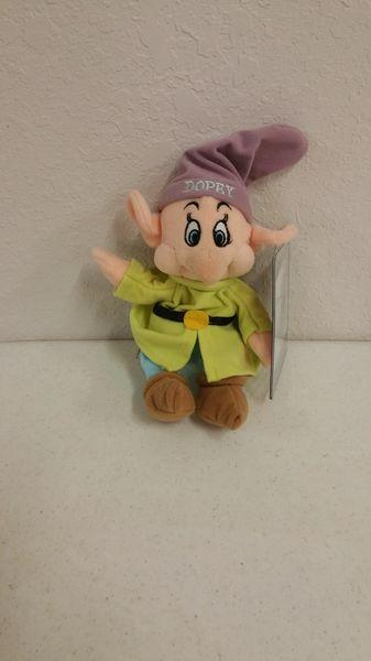 DOPEY (Snow White & the Seven Dwarfs) Mini Bean Bag - Disney
