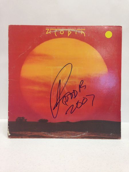 Utopia **RA** Signed & Certified LP Cover with vinyl record - GV525058 - signed by: Todd Rundgren