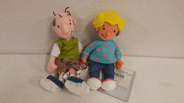 DOUG & PATTI SET Mini Bean Bag - Disney