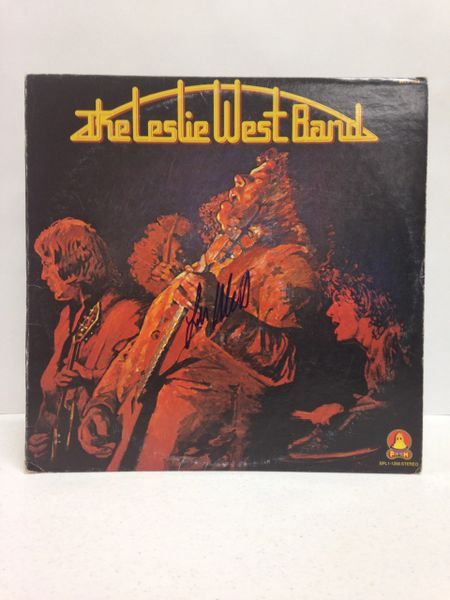 The Leslie West Band **THE LESLIE WEST BAND** Signed & Certified LP Cover with vinyl record - GV532684 - signed by: Leslie West