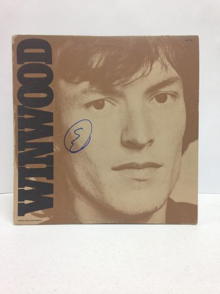 Steve Winwood **WINWOOD** Signed & Certified LP Cover with vinyl record - GV529230