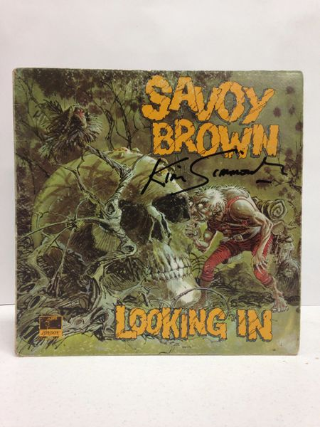 Savoy Brown **LOOKING IN** Signed & Certified LP Cover with record - GV52052