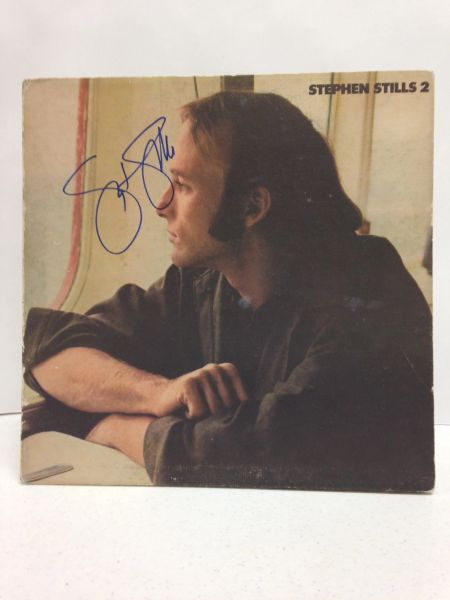 Stephen Stills **STEPHEN STILLS 2** Signed & Certified LP Cover with record - GV554265