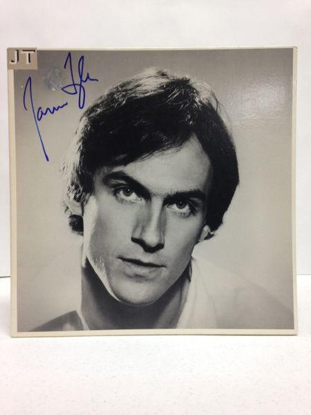 James Taylor **JT** Signed & Certified LP Cover with vinyl record - GV513800