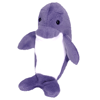 ECHO the DOLPHIN Beanie Baby - Ty